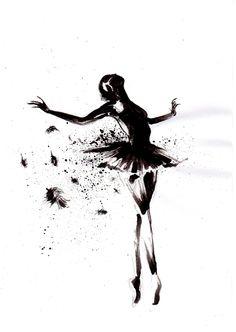 Black Swan by Art-Of-Evil-Crayons.deviantart.com on @deviantART