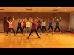 """PUMP UP THE JAM"" Technotronic - Dance Fitness Workout with Weights Valeo Club - YouTube"