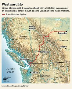 With A 5 Billion Pipeline Project Canada Looks To Bypass U S For Asia