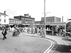 Sep 1970 Photograph of East Market Street, St. St Helens Town, Saint Helens, John James, Family Album, The Old Days, My Town, Old Photos, Childhood Memories, Old Things