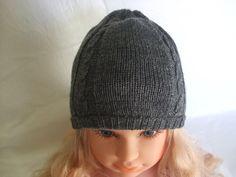 cappello beretto maglia lana bimbo, by maglieria magica, 10,30 € su misshobby.com