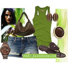 """""""green"""" by andresol28 on Polyvore"""