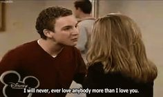 I wanna be your Topanga..  if you'll be my Cory  <3 <3 <3