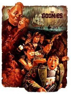 I Goonies (film 80s Movies, Great Movies, 1980s Films, Movies And Series, Movies And Tv Shows, Tv Series, Os Goonies, Goonies Party, Funny Movies