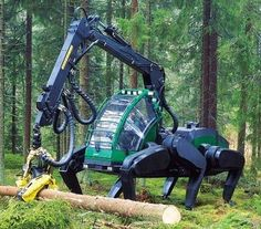 Like something out of Avatar, indeed! But this cool machine was developed almost a decade ago.
