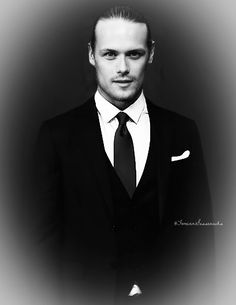 Sam Hueghan, Sam And Cait, Jamie And Claire, Outlander, Suit Jacket, Suits, Jackets, Fashion, Ant Colony