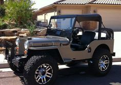1948 Willys Jeep - nice restoration! Can you believe this is almost 70 years old?