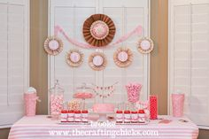 A Fabulous & Fancy 5th Birthday Party {Candy Buffet, Lollies and Pennants, oh my!}