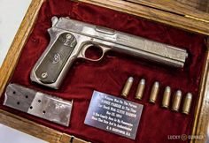 One of Bonnie Parker's guns.