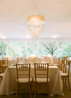 Tented event, neutrals w/ modern chandelier, Simply Chic Events, Abby Jiu Photography