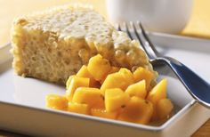 This version of tapioca pearl cake kicks things up a notch with coconut, lime and papaya.
