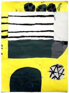 From Mini Galerie, Stephen Smith, Orbit Oil, enamel and acrylic collage on paper, 56 × 76 cm Collage Illustration, Graphic Design Illustration, Illustrations, Painting Collage, Paintings, Morris Chestnut, Graphic Artwork, Contemporary Abstract Art, Black And White Abstract