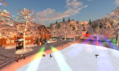 Winter Festival at Aero Pines Park | Second Life
