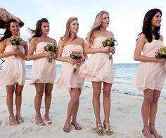 02 17 Rustic Ideas Plum Pretty Sugar Light Pink Bridesmaidsbeach Bridesmaid Dressespink Wedding