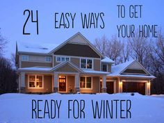 24 Easy Ways To Get Your Home Ready For Winter - BuzzFeed Mobile