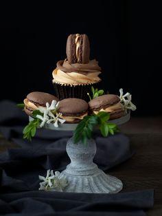 Jaleo en la Cocina: Cupcakes de chocolate y naranja al cointreau... ¿Algo más?