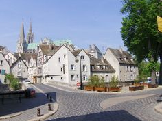 Chartres Cathedral town. France.