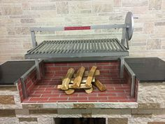 Gaucho Grande with Wood 12 x Clean Grill, How To Grill Steak, Argentine Grill, Outdoor Grill Station, Stainless Steel Grill, Grill Plate, Fireplace Wall, Gaucho, Grilling