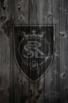 iPhone wallpaper. Wood burned logo