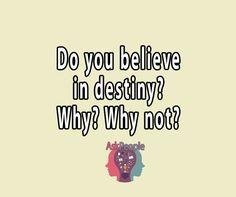 Ask People # 14370 | Destiny