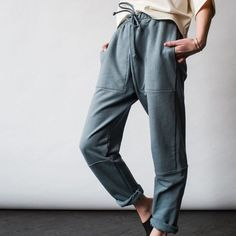 Easy Drawstring -  French Terry
