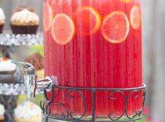 Pink Lemonade Sparkling Fruit Punch Recipe