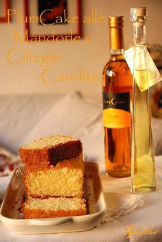 La foresta incantata: Plumcake alle Mandorle e Ciliegie Candite (Almond and Cherry Plumcake)