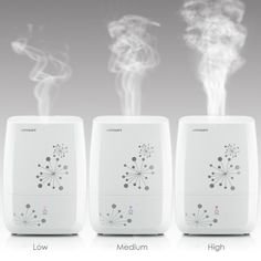 Amazon.com: URPOWER Humidifiers, 4L Whisper-quiet Operation Ultrasonic Cool Mist Humidifier Waterless Auto Shut-off Air Humidifier with Adjustable Mist Mode Sleep Mode Humidifiers for Bedroom Babyroom Office: Home & Kitchen