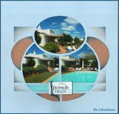 CasaDoSul2Recto_Evasion2 Album Photo Scrapbooking, Polaroid Film, Beaches, Photos, Deco, Home, Creativity, Template, Europe Style