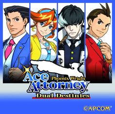 Phoenix Wright: Ace Attorney - Dual Destinies cover art