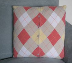 Love this Upcycled pillow.