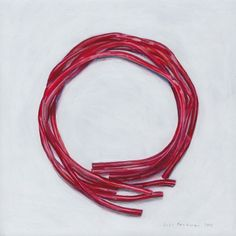 Joel Penkman, Raspberry laces, Egg tempera on gesso board, x x Joel Penkman, Food Artists, Still Life Drawing, Food Painting, Pick And Mix, Candy Store, Everyday Objects, Alice In Wonderland, Illustration Art
