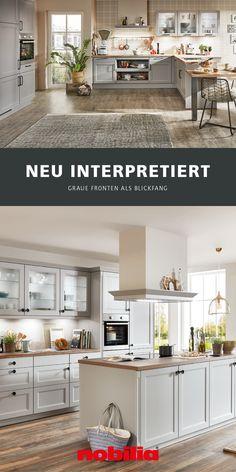 Nobilia Kitchen, Kitchen Pantry Design, Interior Design Kitchen, Room Interior, Interior And Exterior, Home Reno, Küchen Design, Modern Classic, Beautiful Homes