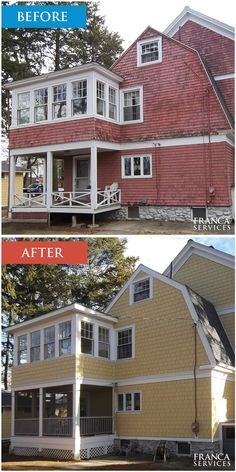 We are proud to deliver a multitude of services to our Massachusetts customers. Franca Services is the right choice for Fiber Cement Siding, Fiberglass Siding, Vinyl Siding, Insulated Siding, Wood Shingle Siding, Windows Replacement, Door Installation, Deck Construction and Decking Replacement needs.   #sidingjob #marlboroughma #marlborough #francaservices Insulated Siding, Fiber Cement Siding, Shingle Siding, Deck Construction, Wood Shingles, Window Replacement, Side Window, Vinyl Siding, Stone Tiles