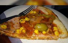 Receita de Massa de pizza sem ovo