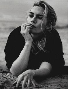 "Kate Winslet by Peter Lindbergh for Vogue Italia November 2015 """