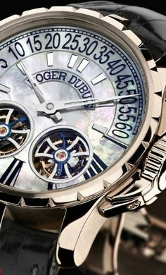 ROGER DUBUIS MENS WATCH #watch #timepiece