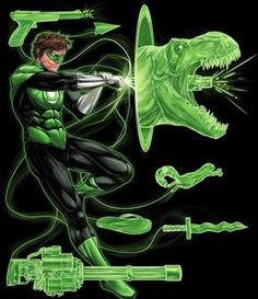 What would be the first thing you would make if you were Green Lantern?! #comicsandcoffee