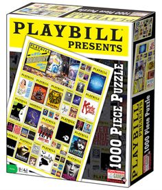 New! The Playbill Presents the Best of Broadway 2010 to 2015 - 1,000 Piece Jigsaw Puzzle features the Playbill covers of dozens of the best musicals to play on Broadway in recent years. Offers hours of fun for the whole family. The dozens of...