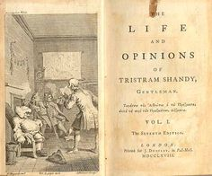 tristram shandy first edition - Google Search
