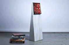 The Marble Bookmark by Paul Cocksedge is a Novel Sculpture trendhunter.com
