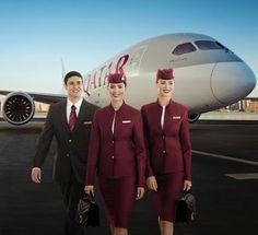 Qatar Airways. most beautiful cabin crew