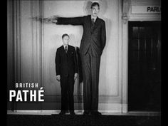 """Tallest Man in History - Robert Wadlow 8ft11"""" [Full Resolution] This is so cool."""