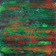 """Koen Lybaert; Oil 2014 Painting """"abstract N° 1006"""""""