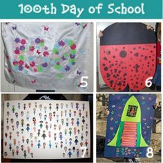 16 - 100th Day of School Ideas {DIY ideas}