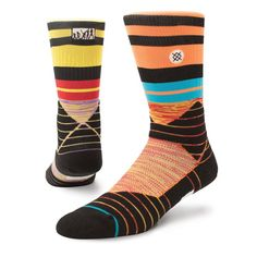 MLB Stance Youth 2017 Players Weekend Crew Socks - Yellow