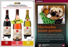 Marinades passe-partout - La Presse+ Delicious Recipes, Yummy Food, Lorraine, Vinaigrette, Sauces, Bouquets, Bbq, Cooking Recipes, Drinks