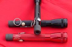 Maglight flashlight gun