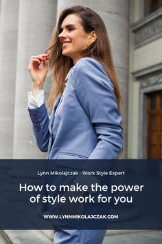 Once you are aware of the power of style, you can make it work for you. In this blog post, I will explain the 2 levels of the power of style and give you 3 steps to own that power