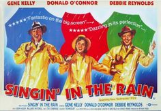 Poster for 'Singing in the Rain' ...